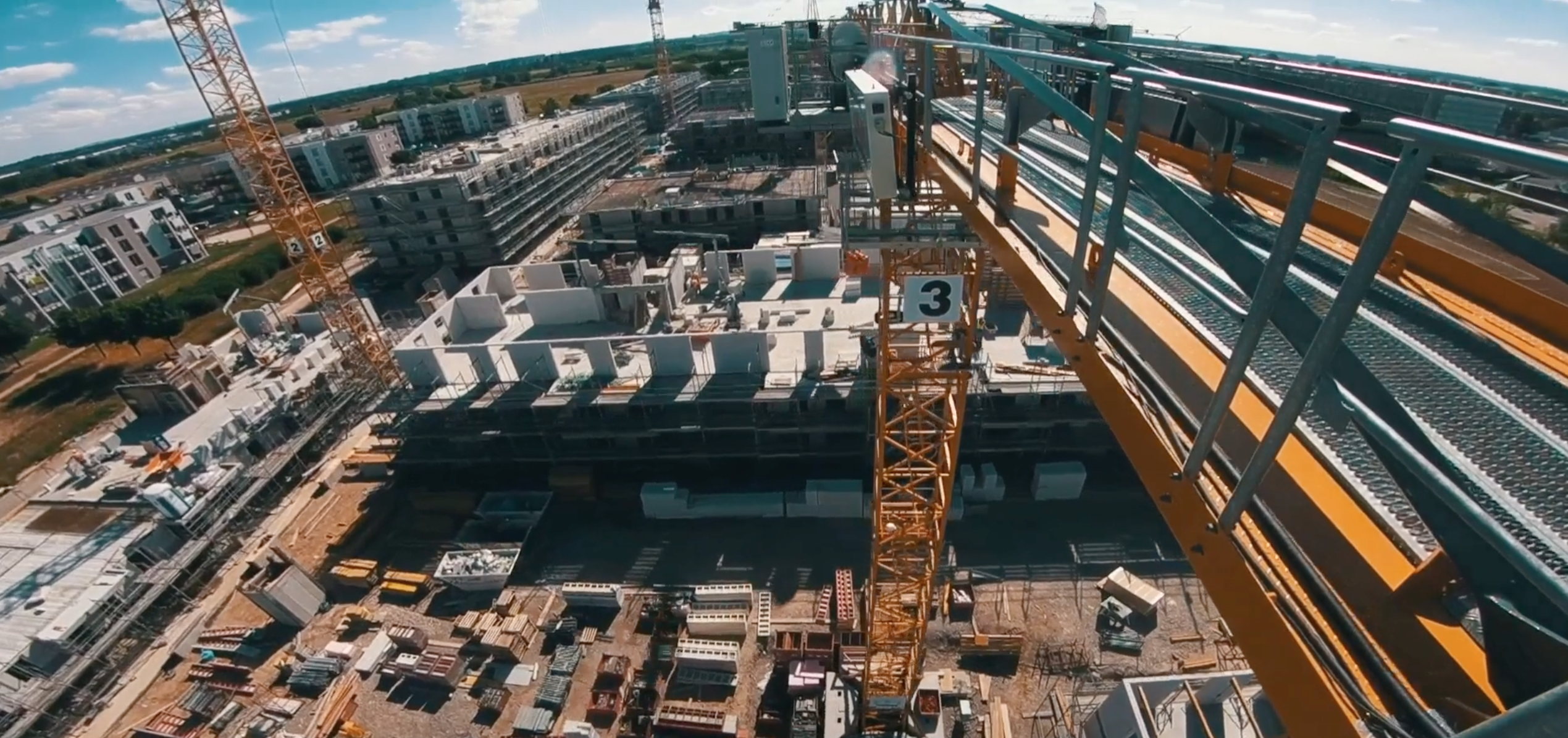 Baufortschritt-Video